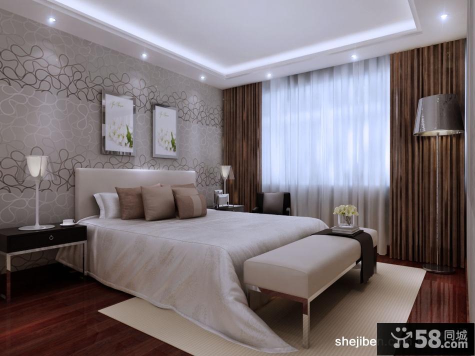 卧室飘窗窗帘设计图