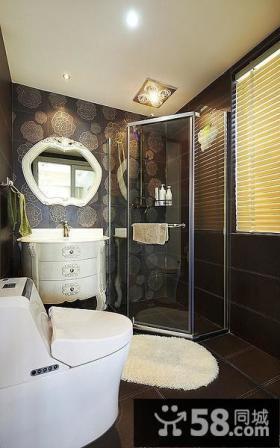 现代摩登家装卫生间设计