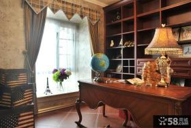 复古欧式书房设计