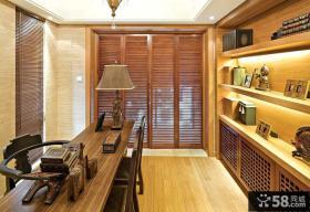 东南亚设计书房图片
