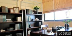 现代简约书房装修效果图片大全2013图片
