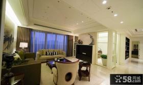 134平米现代三居室内装饰效果图