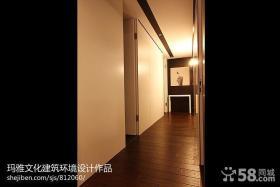 现代家装修走廊过道效果图