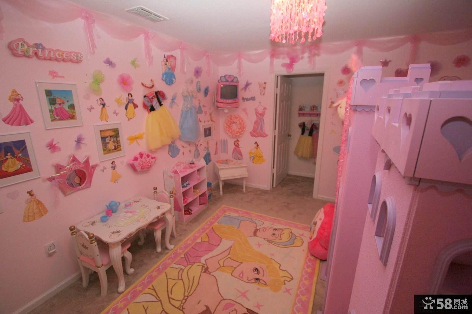 梦幻公主房装修效果图片