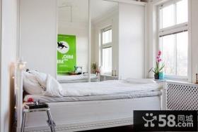 白色小卧室装修效果图