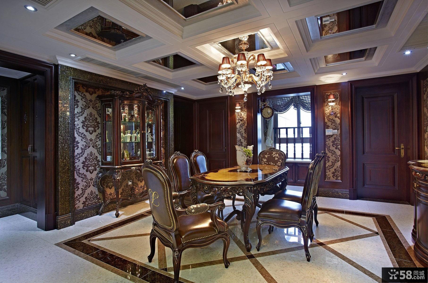 家居古典时尚餐厅