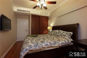 摩登休闲美式卧室装饰