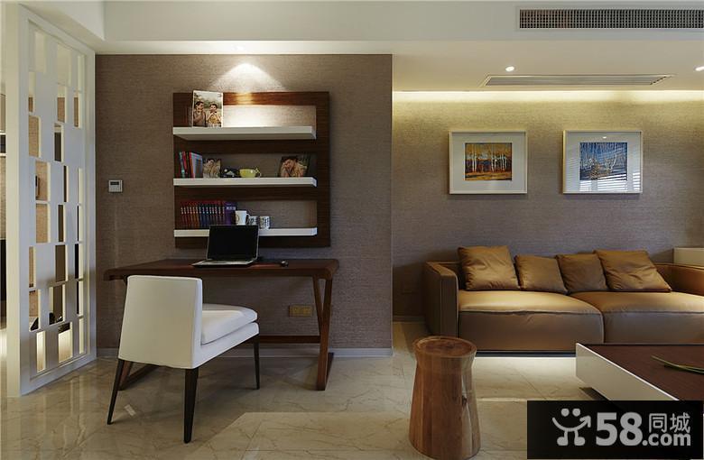 客厅简约电视墙