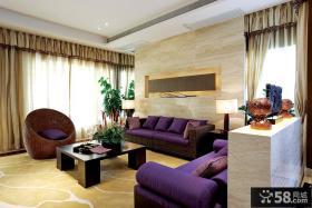 现代风格客厅沙发装饰
