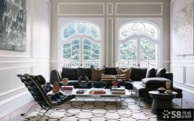 北欧风格三室两厅设计效果图欣赏