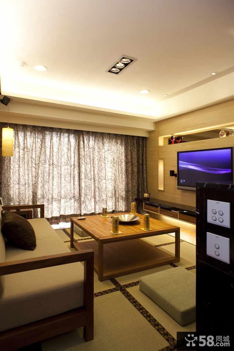 客厅背景电视墙