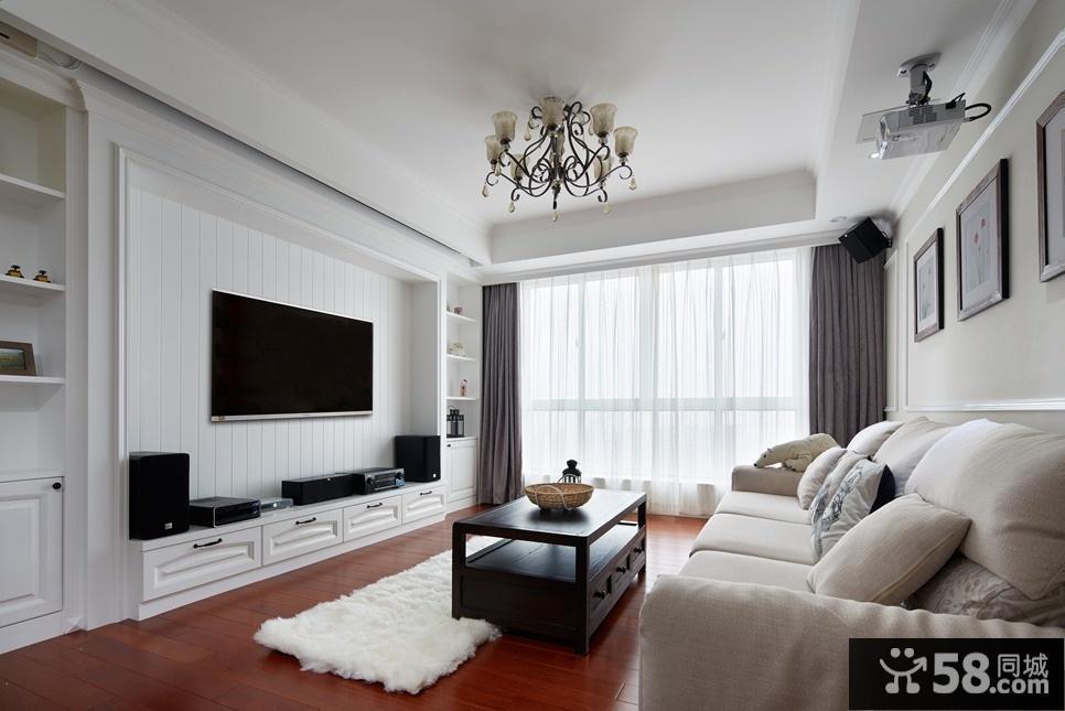 简约中式风格客厅