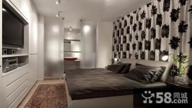 北丰小区中式现代房屋卧室装修设计实图