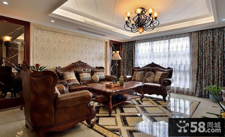 家装美式风格效果图
