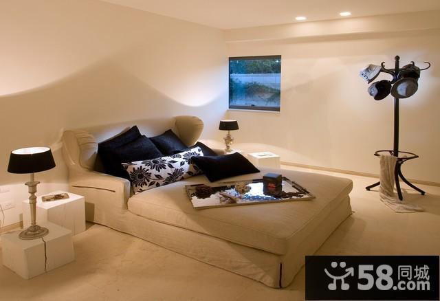 中式现代电视背景墙装修效果图