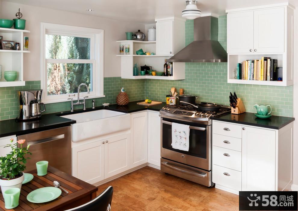 厨房装修效果图不锈钢