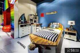 混搭儿童房间色彩布置效果图片