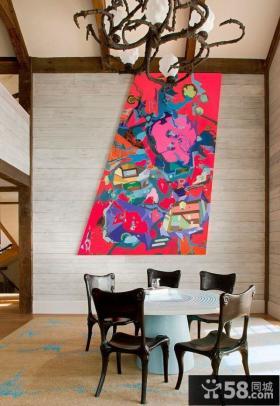 美式风格餐厅设计效果图欣赏大全2014图片
