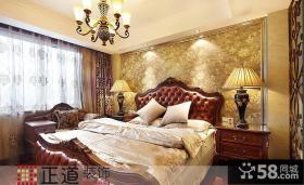 欧式风格高档装修卧室图片大全