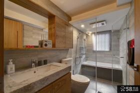 田园室内整体卫生间设计