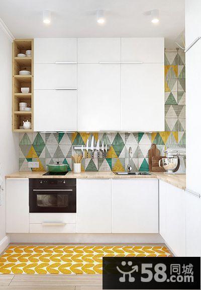 小面积厨房设计效果图