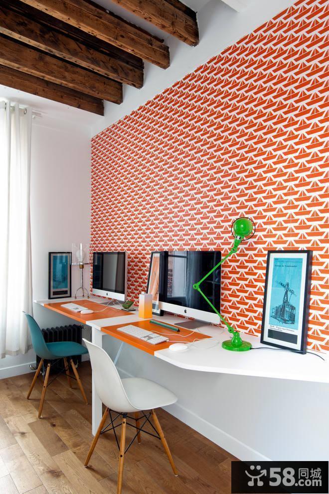 现代简约餐厅吊顶装修效果图