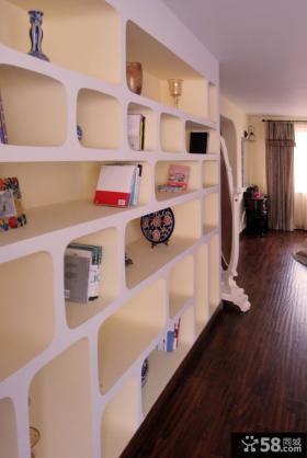 客厅置物架效果图片