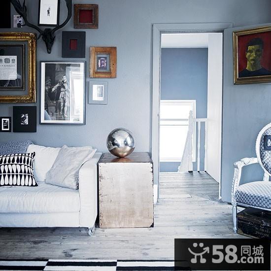 客厅电视背景墙效果图2016简欧