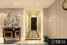 新古典风格室内进门玄关图片