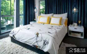 混搭风格别墅卧室设计效果图