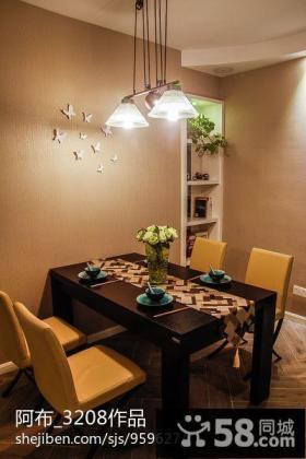 最新现代风格小餐厅装修效果图欣赏