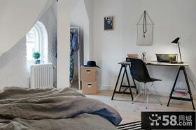 北欧设计室内阁楼效果图大全2015