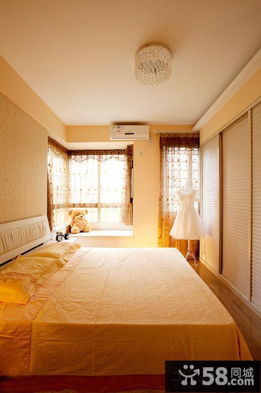 宜家风格儿童房窗帘效果图片
