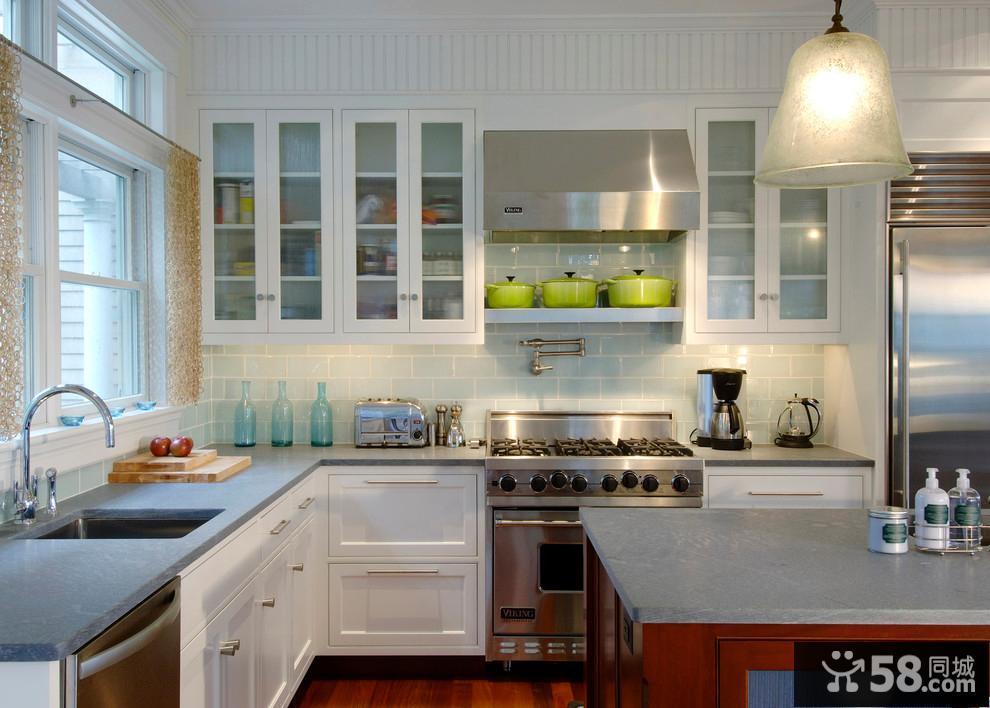 三室一厅厨房装修图
