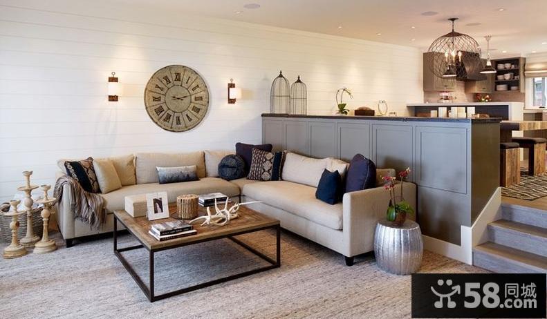 美式别墅卧室装修效果图