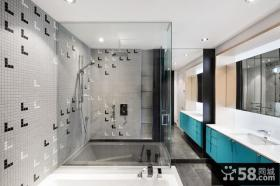 精致现代卫生间设计