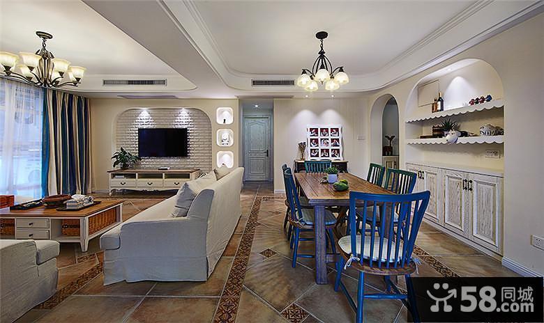 中式装修客厅效果