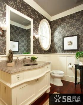 欧式卫生间装修效果图大全图片欣赏