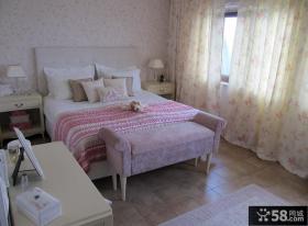 简约风格卧室装修效果图大全2012图片 简约卧室窗帘图片