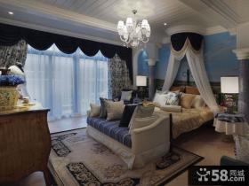 地中海卧室家装设计室内图片