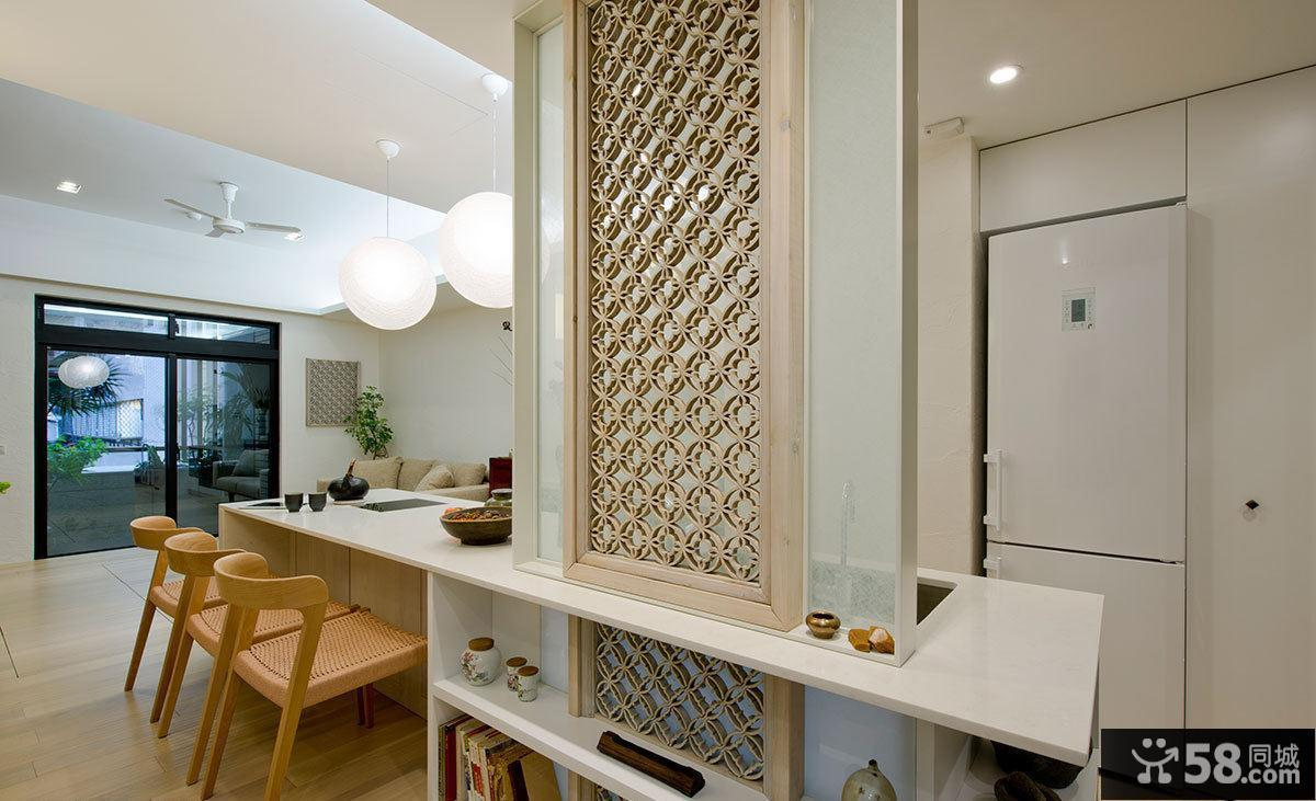65平米简约一居设计装饰效果图