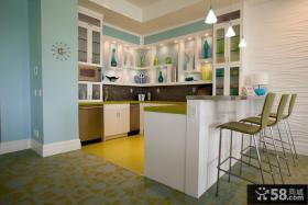 小型开放式厨房效果图