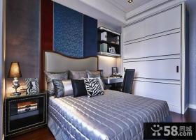 摩登奢华简欧卧室装修效果图