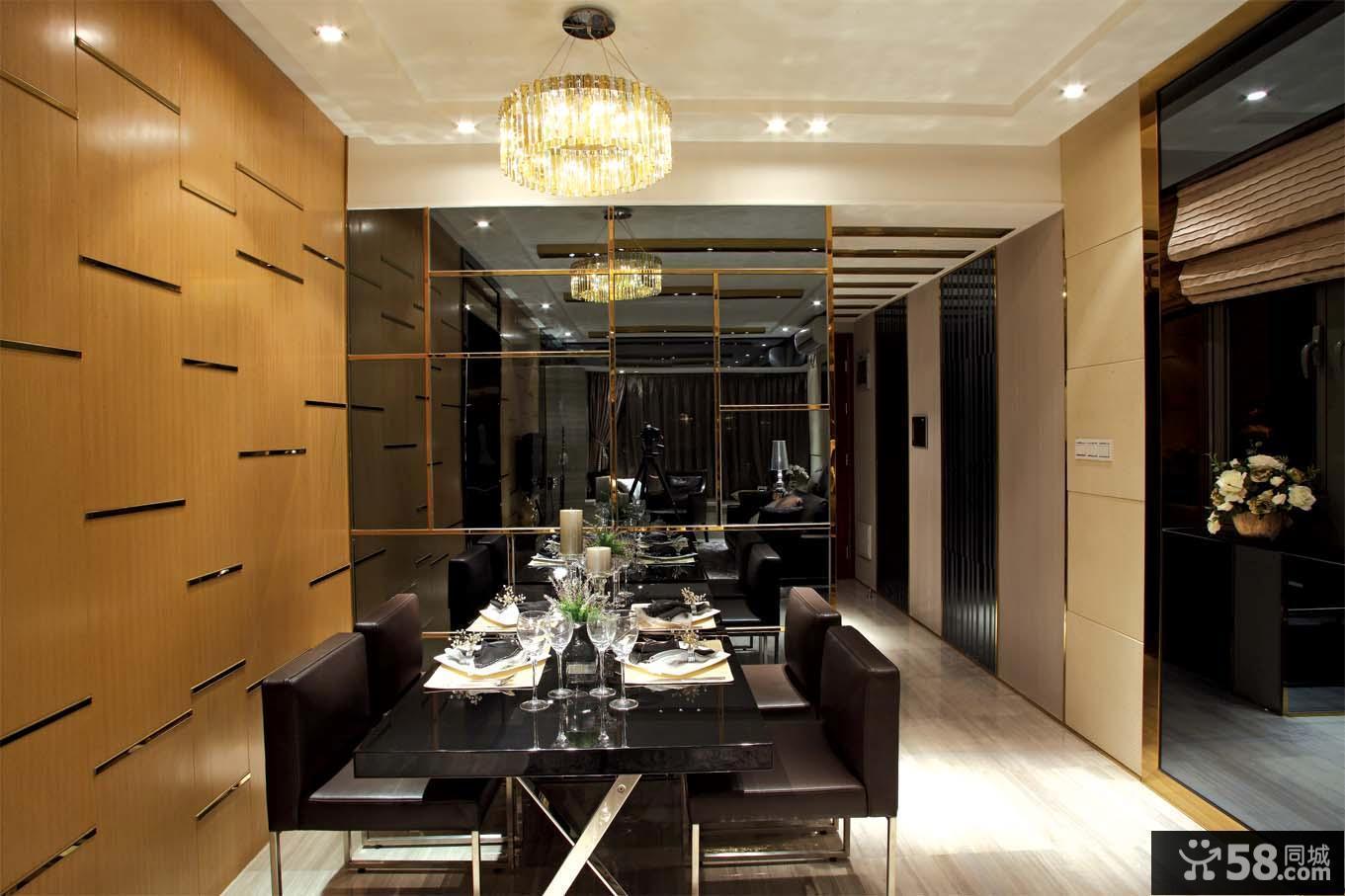 现代新古典家居餐厅装修设计