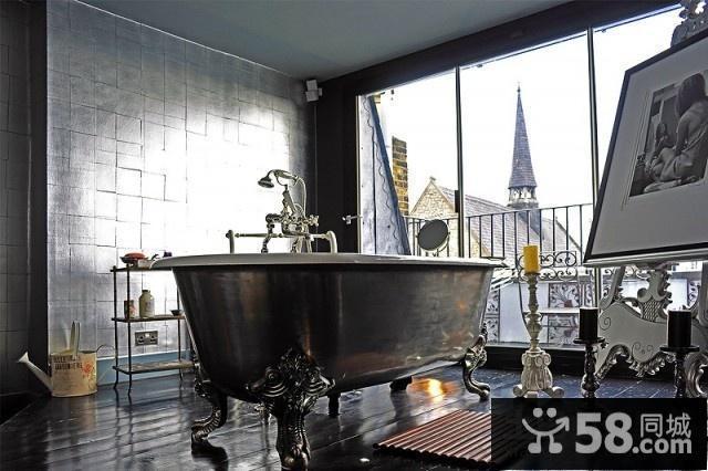 美式古典装修风格样板房