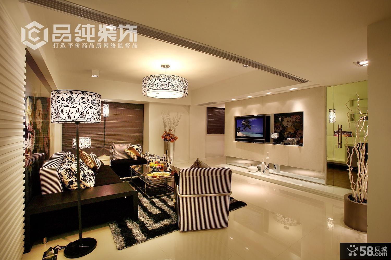 后现代风格客厅装修图