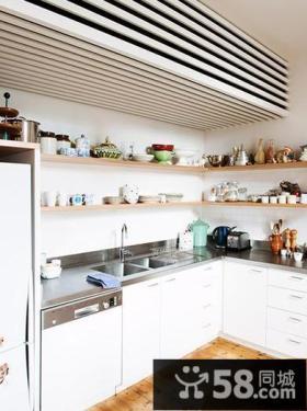 北欧简约复式家居厨房装饰效果图片