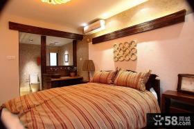 最新简约三居主卧室装修效果图欣赏