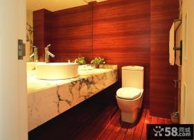 家庭卫生间设计装修效果图片
