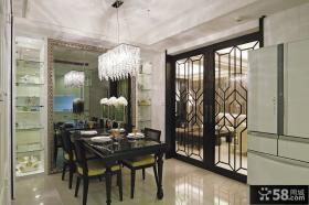 美式风格两居室创意装修效果图